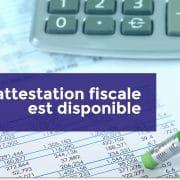Attestation fiscale Garantie de Loyers Impayés...